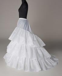 Свадебный кринолин на обручах для платьев со шлейфом