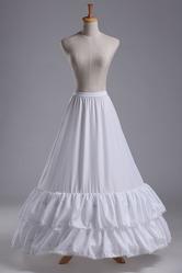 Свадебная юбка-кринолин на обручах