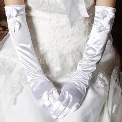 Высокие свадебные перчатки Опера