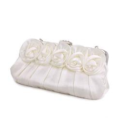 Свадебный атласный клатч Розы