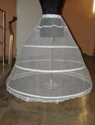 Свадебный кринолин - юбка на трех обручах