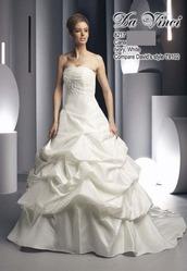 Свадебное платье с объемной юбкой DV8217