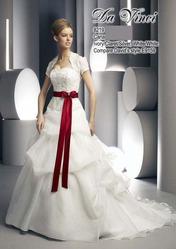 Необычное свадебное платье DV8219