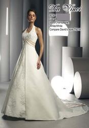 Необычное свадебное платье DV8230