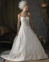 Свадебное платье с оригинальным шлейфом CW5473