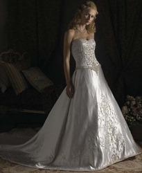 Платье невесты с пышной юбкой CW5461