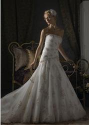 Удивительно нежное свадебное платье CW5460