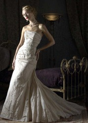 Свадебное платье А-силуэта CW5480