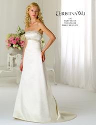 Свадебное платье прямого силуэта CW5382