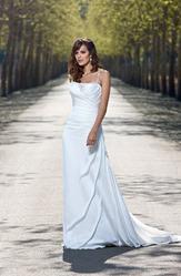 Свадебное платья с открытой спиной, модель N EW004