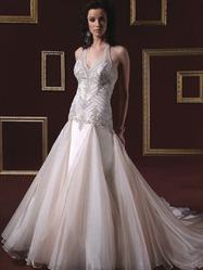 Свадебное платье русалка, модель N HK00112.