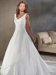 Белое свадебное платье, модель N HK00146.