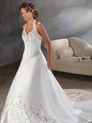 Элитное свадебное платья, модель N HK00150.