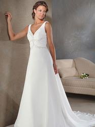 Шикарное свадебное платья, модель N HK00165.