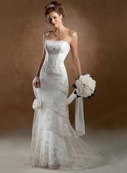 Свадебное платье русалка, модель N HK00424