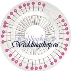 Декоративные иголки с розовыми наконечниками