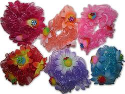 Резинка д/в Органза/цветы