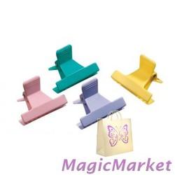 Зажим пластиковый Comair разноцветный 12шт (3150025)