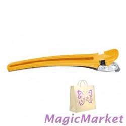 Зажим комбинированный желтый Comair 9,5 см, 10шт (3150051)