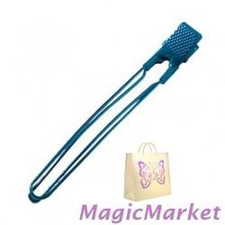 Зажим алюминиевый голубой Comair 12 см, 10шт (3150041)