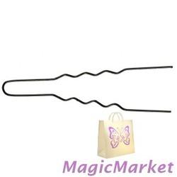 Шпильки для локонов черные Comair, d0,55 х 45 мм, 50 шт (3150055)